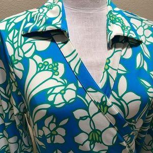 Designer Julie Brown Milo wrap dress